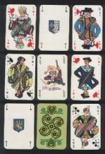 Playing cards Bretagne by le Triboulet & Mateja 1960